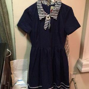 Sailor dress purchased on ModCloth